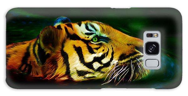 Afternoon Swim - Tiger Galaxy Case
