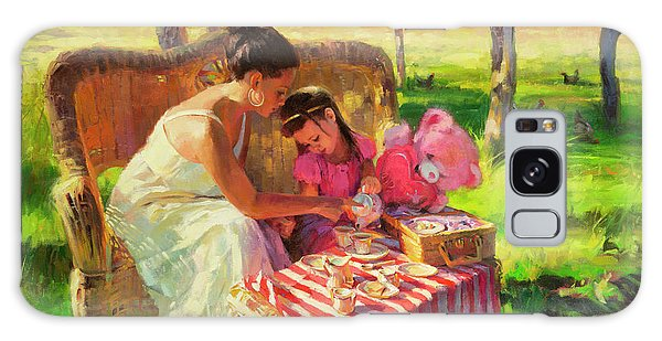 Celebration Galaxy Case - Afternoon Tea Party by Steve Henderson