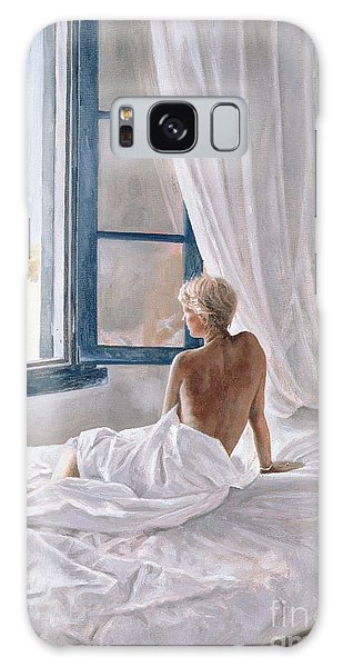 Sitting Nude Galaxy Case - Afternoon View by John Worthington