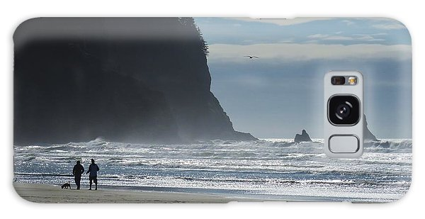 Cape Meares Galaxy Case by Michele Penner