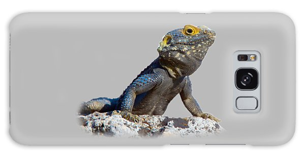 Agama Basking On A Rock T-shirt Galaxy Case