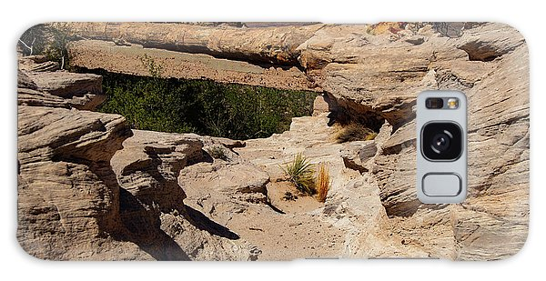Agate Bridge - Petrified Forest National Park Galaxy Case
