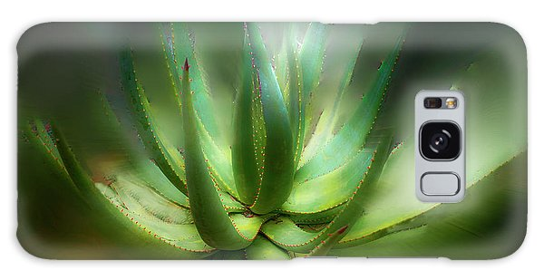 Agave Sunrise Galaxy Case by Joseph Hollingsworth