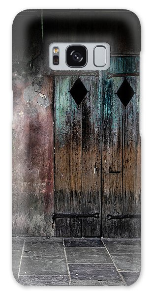 Aged And Erie Door Galaxy Case