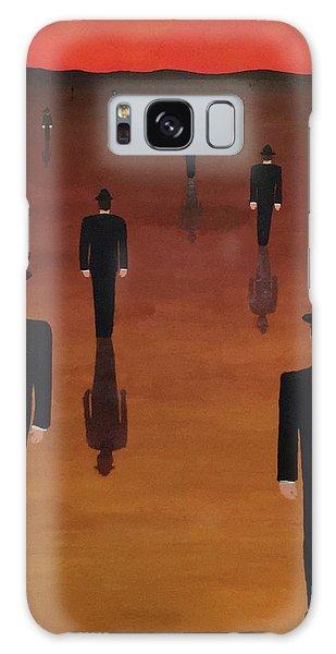 Agents Orange Galaxy Case by Thomas Blood