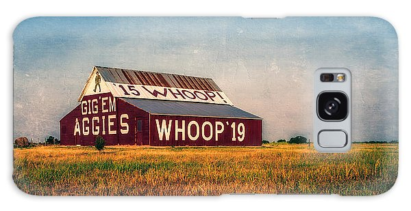 Galaxy Case featuring the photograph Aggie Barn 2015 by Joan Carroll