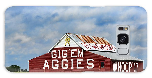 Texas Galaxy Case - Aggie Nation Barn by Stephen Stookey