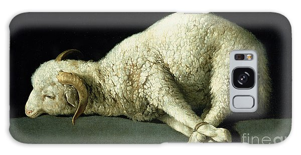 Sheep Galaxy Case - Agnus Dei by Francisco de Zurbaran