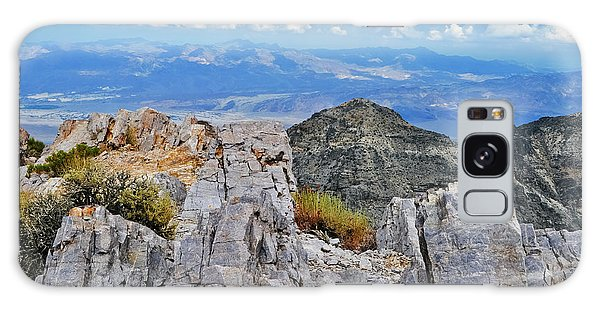 Aguereberry Point Rocks Galaxy Case