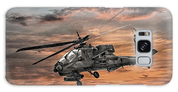 Ah-64 Apache Attack Helicopter Galaxy Case