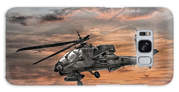 Ah-64 Apache Attack Helicopter Galaxy Case by Randy Steele
