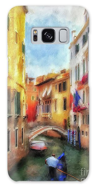 Ahh Venezia Painterly Galaxy Case by Lois Bryan