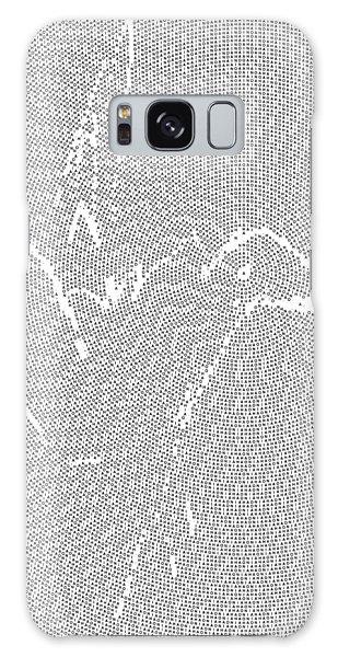 Galaxy Case featuring the digital art Aibird by Robert Thalmeier