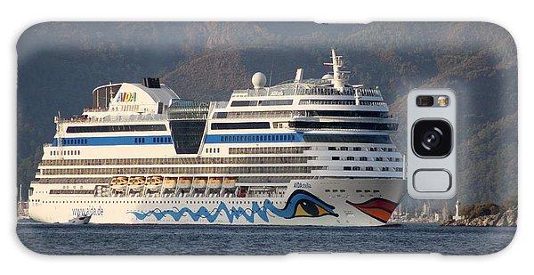 Aida Stella Cruise Ship Leaving Marmaris Galaxy Case