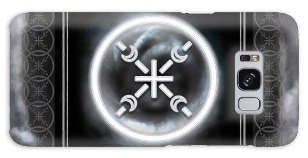 Galaxy Case featuring the digital art Air Emblem Sigil by Shawn Dall