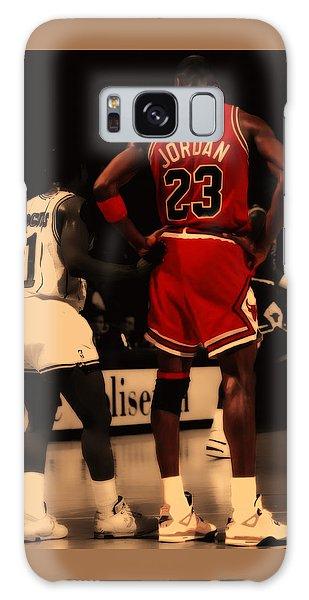 Air Jordan And Muggsy Bogues Galaxy Case