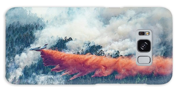Air Tanker On Crow Peak Fire Galaxy Case