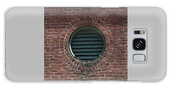 Air Vent In Brick Wall Galaxy Case