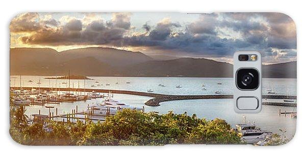 Marina Galaxy Case - Airlie Beach Marina by Az Jackson