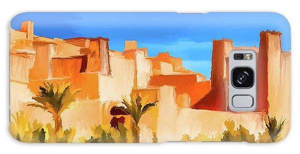 Ait Benhaddou Morocco Galaxy Case by Wally Hampton