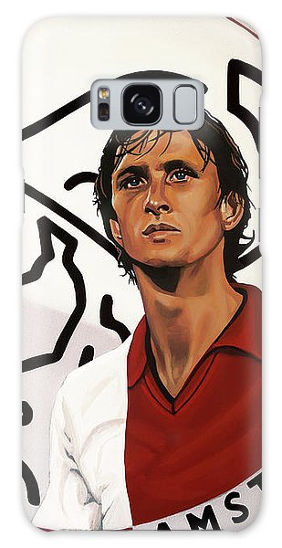 Sportsman Galaxy Case - Ajax Amsterdam Painting by Paul Meijering