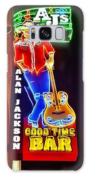 Aj's Good Time Bar Galaxy Case