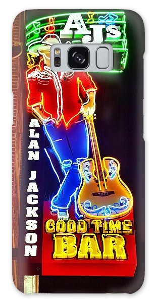 Aj's Good Time Bar Galaxy Case