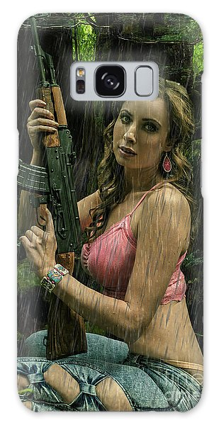Ak47 In The Rain Galaxy Case