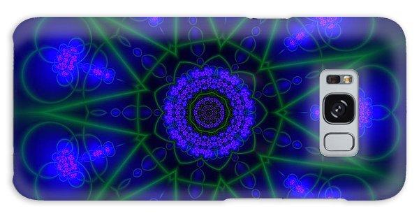 Galaxy Case featuring the digital art Akbal 9 Beats by Robert Thalmeier