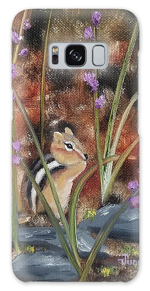 Galaxy Case featuring the painting Al Fresco Dining With A View by Judith Rhue