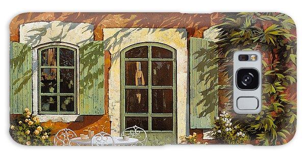 Bar Galaxy Case - Al Fresco In Cortile by Guido Borelli