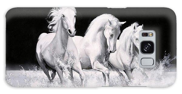 White Horse Galaxy Case - Al Galoppo  Nella Notte by Guido Borelli