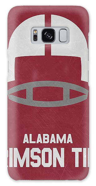 March Galaxy Case - Alabama Crimson Tide Vintage Football Art by Joe Hamilton