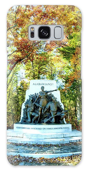 Alabama Monument At Gettysburg Galaxy Case