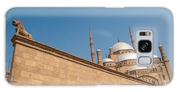 Galaxy Case - Alabaster Mosque From A Diagonal Perspective by Iordanis Pallikaras