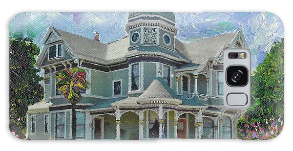 Alameda 1893  Queen Anne  Galaxy Case by Linda Weinstock