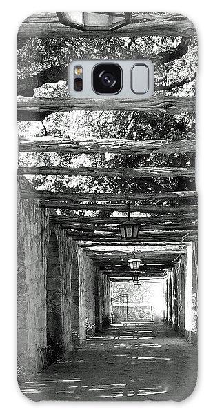Alamo Corridor Galaxy Case by Debbie Karnes