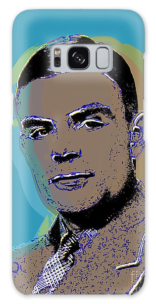 Alan Turing Pop Art Galaxy Case