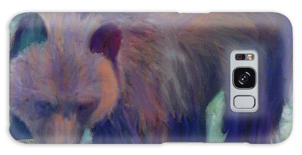 Alaska Bear  Galaxy Case by Julianne Ososke
