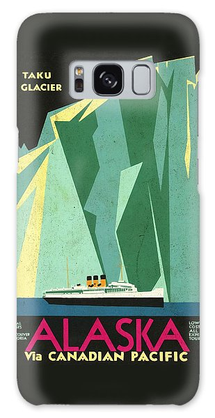 Alaska Canadian Pacific - Vintage Poster Vintagelized Galaxy Case