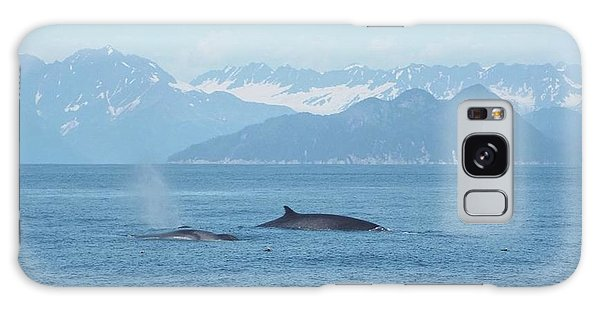 Alaska Finback Whales Galaxy Case