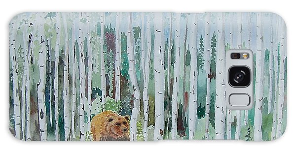 Alaska -  Grizzly In Woods Galaxy Case