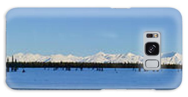 Alaska Highway Panorama Galaxy Case