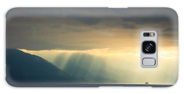 Alaska Inside Passage Under The Clouds Galaxy Case