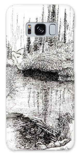 Alaska Pond Galaxy Case