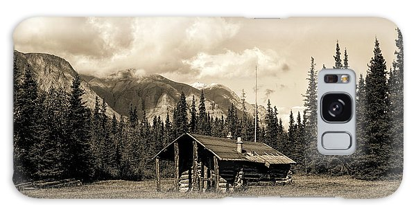 Galaxy Case featuring the photograph Alaska Trapper Cabin by Fred Denner