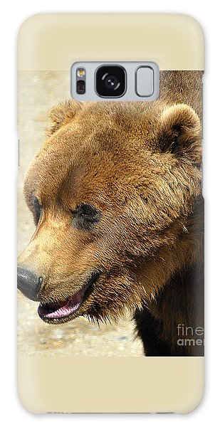 Alaskan Brown Bear Galaxy Case by Diane E Berry