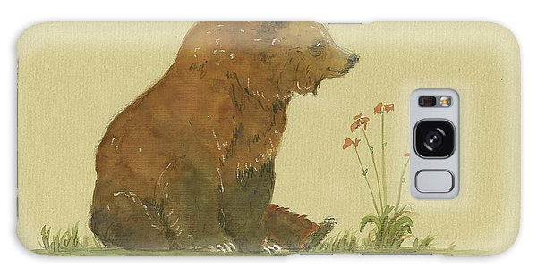 Alaskan Grizzly Bear Galaxy Case