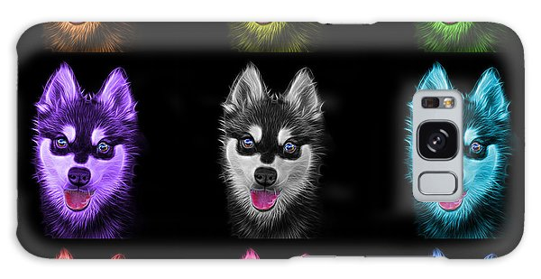 Alaskan Klee Kai - 6029 -bb - M Galaxy Case