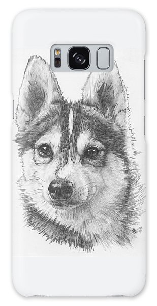 Alaskan Klee Kai Galaxy Case by Barbara Keith